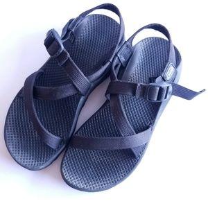 Chaco black sandals 8